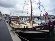 Hilde built at MSO Marine London Boatyard